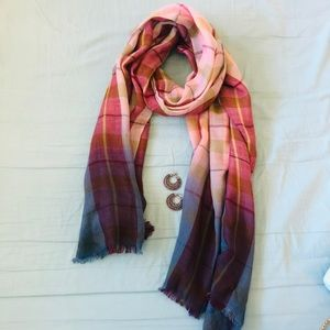 Accessories - Ombré Shaded Scarf